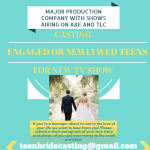 Casting Teens Getting Married Nationwide