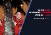 Carnival Cruises open call in Orlando