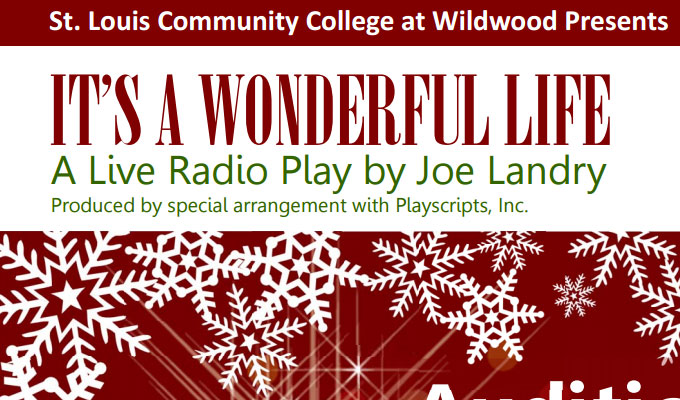 st louis community theater auditions for it 39 s a wonderful life radio play auditions free