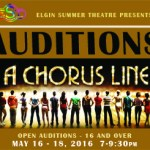"""Auditions in Elgin Illinois for """"A Chorus Line"""""""
