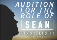 First Light movie role of Sean