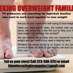 TV Producers Now Casting Families Needing to Lose Serious Weight to Improve Health