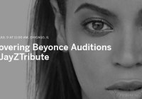 Beyonce singer auditions