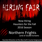 "Scare Actors and Zombie Auditions in Minnesotta for ""Northern Frights"""