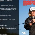 Casting Fishermen / Women for Fishing Lure Commercial in Minneapolis, MN