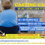 Docu Series Looking for Overweight Teens Considering Weight loss Surgery