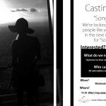 Casting in Tokyo for Music Video