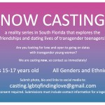 Casting Trans Teens in South Florida for Documentary Project