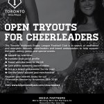 Open Cheerleader Tryouts / Auditions in Toronto for The Toronto Wolfpack Rugby Team