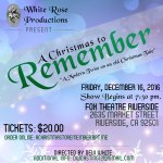 "Actor Auditions in San Bernardino, CA / Riverside for Comedic Take on ""A Christmas Carol"""