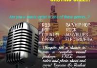 Singer contest in Chicago