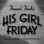 "Theater Auditions in Toronto for ""His Girl Friday"""