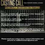 Docu-Series Casting Women in TX, LA & GA Who Have Been Incarcerated Due To Your Partner