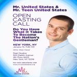 Open Casting Call for Mr. United States Pageant in NYC