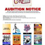 Auditions in Indiana for Paid Roles in Multiple Dinner Theater Shows