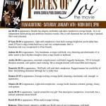 "Detroit Auditions for Feature Film ""Pieces of Joi"""