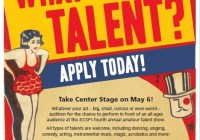 Talent show auditions in Bay Area