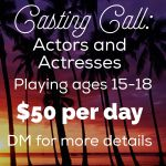 "Short Film Project ""Afterimage"" Casting Teen Actors in Los Angeles"