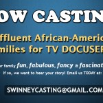 Docu-Series Casting  Affluent African American Families Nationwide