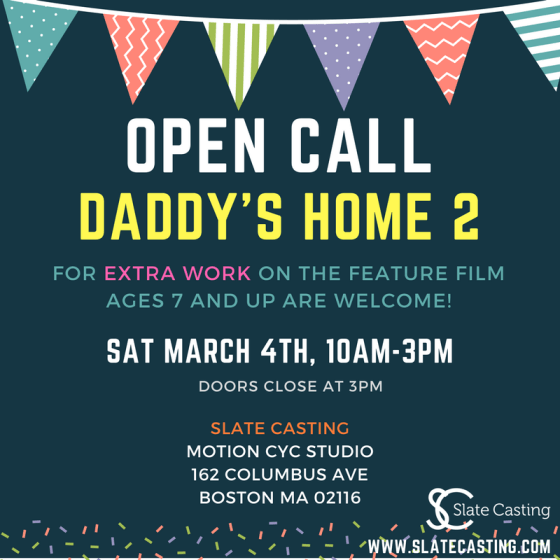 daddys home casting call