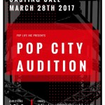 "Auditions in L.A. for TV Pilot ""Pop City"""