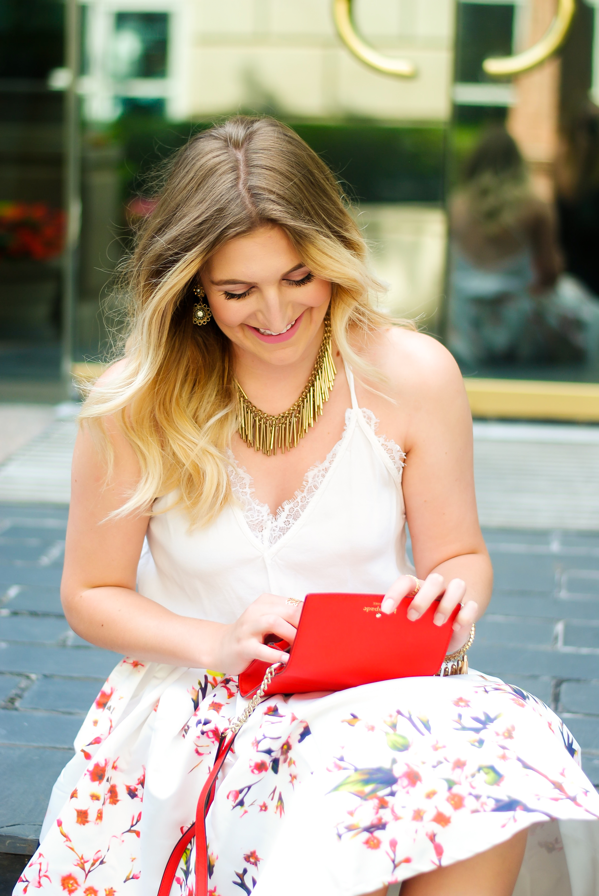 bag details and a summer look | Audrey Madison Stowe Blog