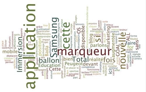 Wordle: Réalité Augmentée 2