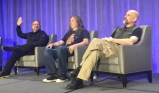 Rony Abovitz, Graeme Devine et Neal Stephenson (source techcrunch.com)