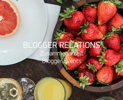 Blogger Arbeit Events
