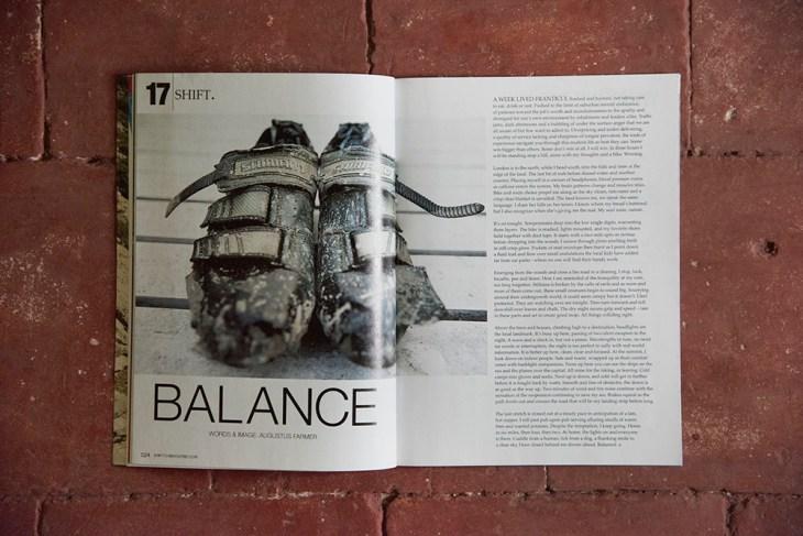 Balanced. Issue 17, Switchback Magazine
