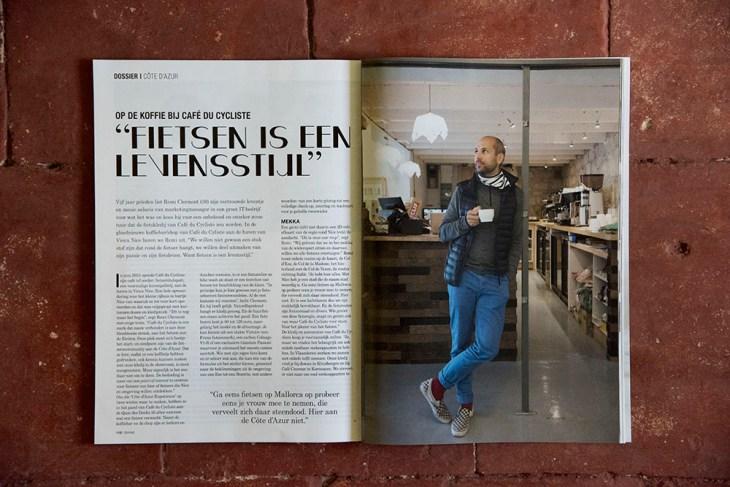Cafe Du Cycliste, Grinta! Magazine