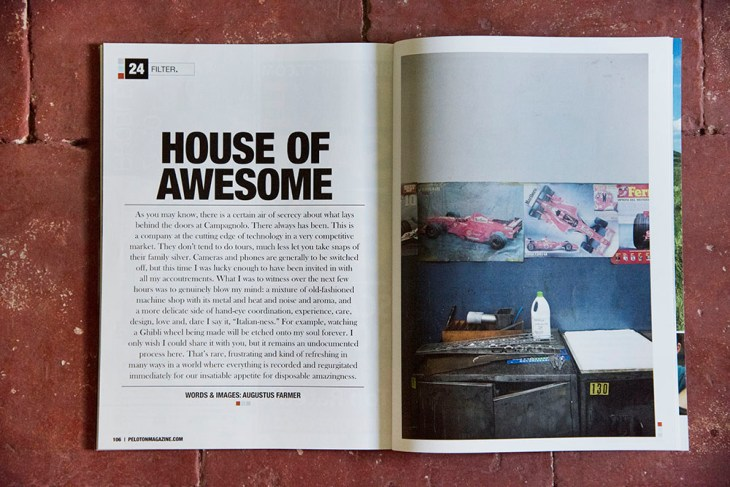 Campagnolo. Issue 24, Peloton Magazine