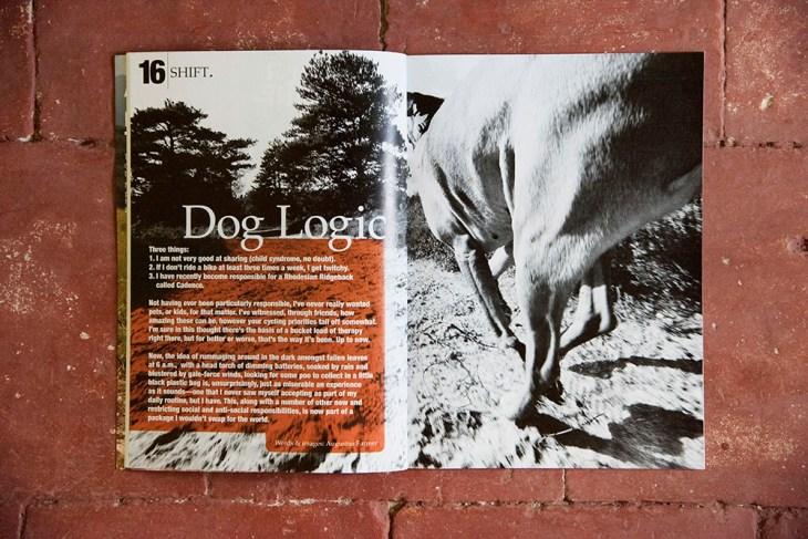 Dog Logic. Switchback Magazine