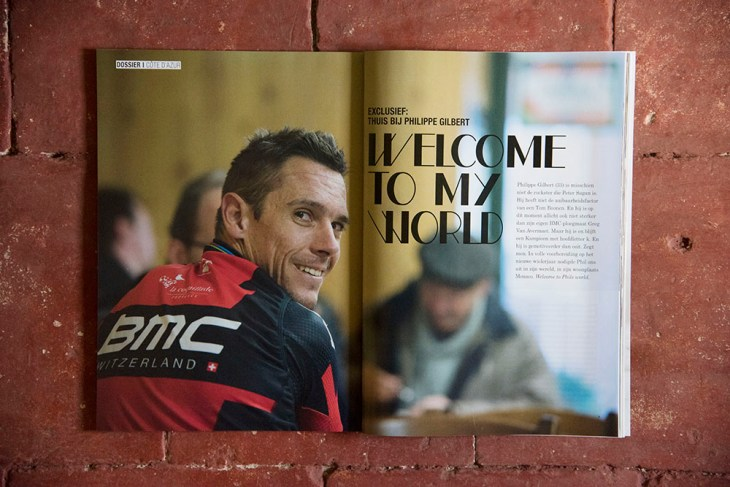Philppe Gilbert. Grinta! Magazine