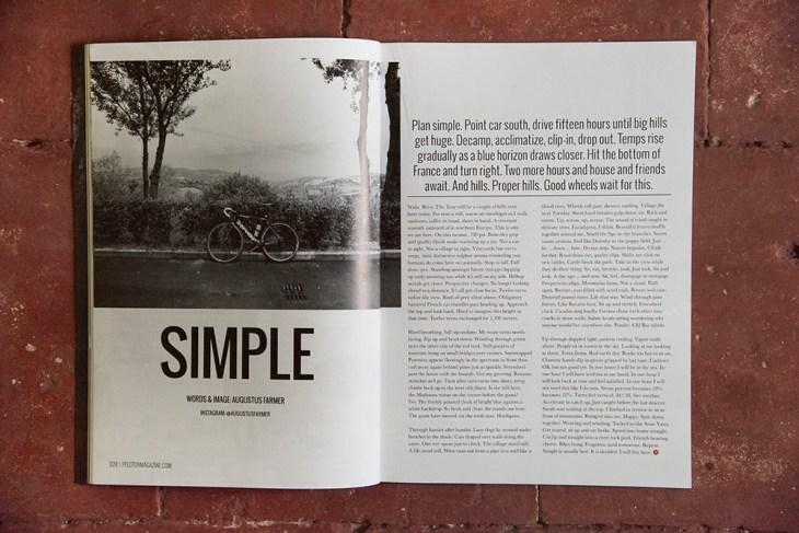 Simple. Issue 29, Peloton Magazine