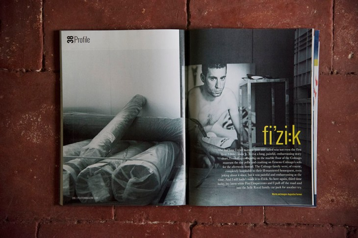 Fi'zi:k. Issue 38, Peloton Magazine