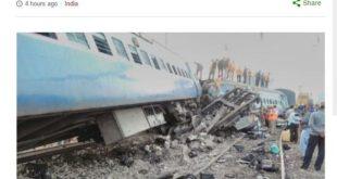 这已经是印度三个月内第四宗火车意外.(网络图片)