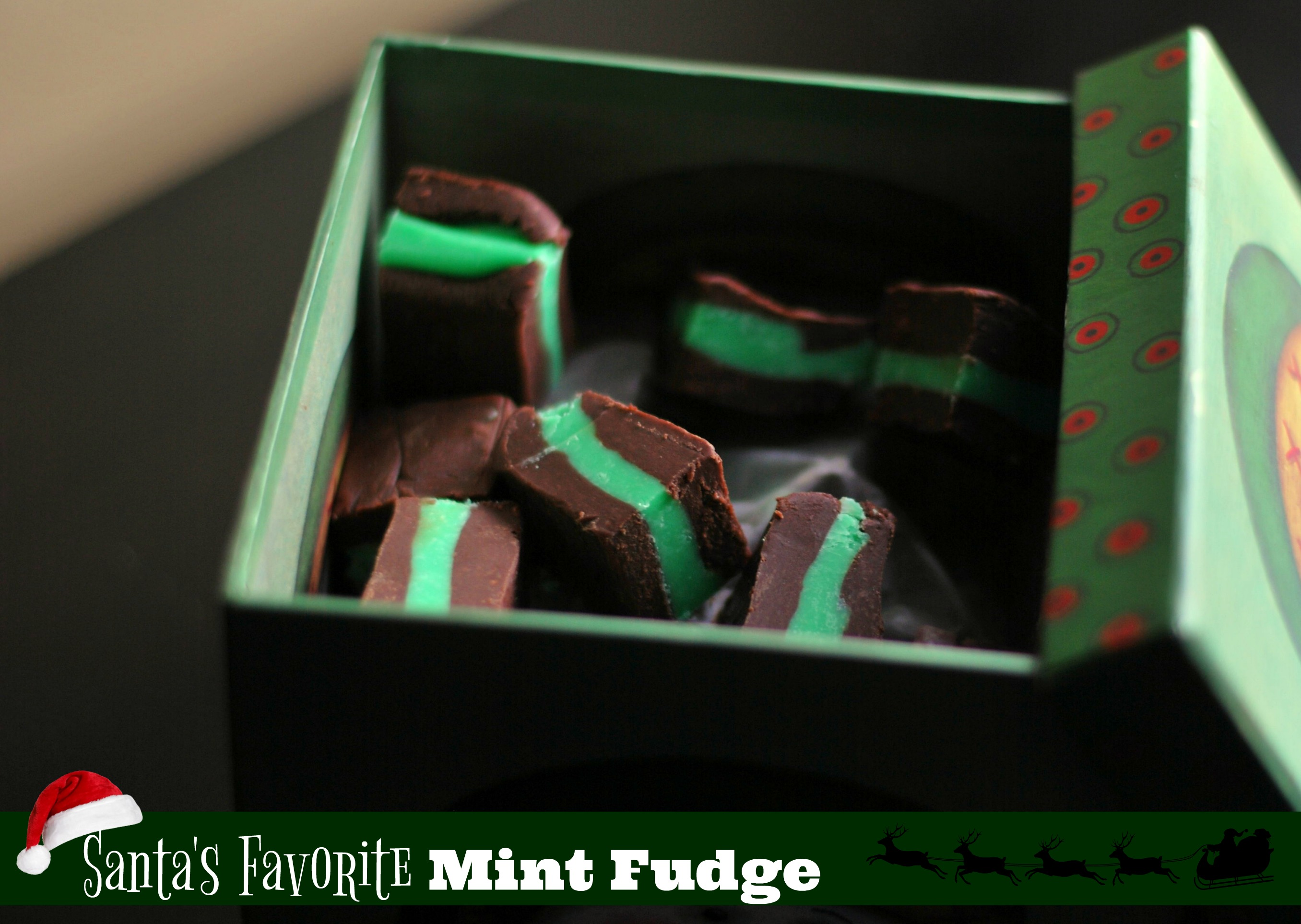 Santa's Favorite Mint Fudge