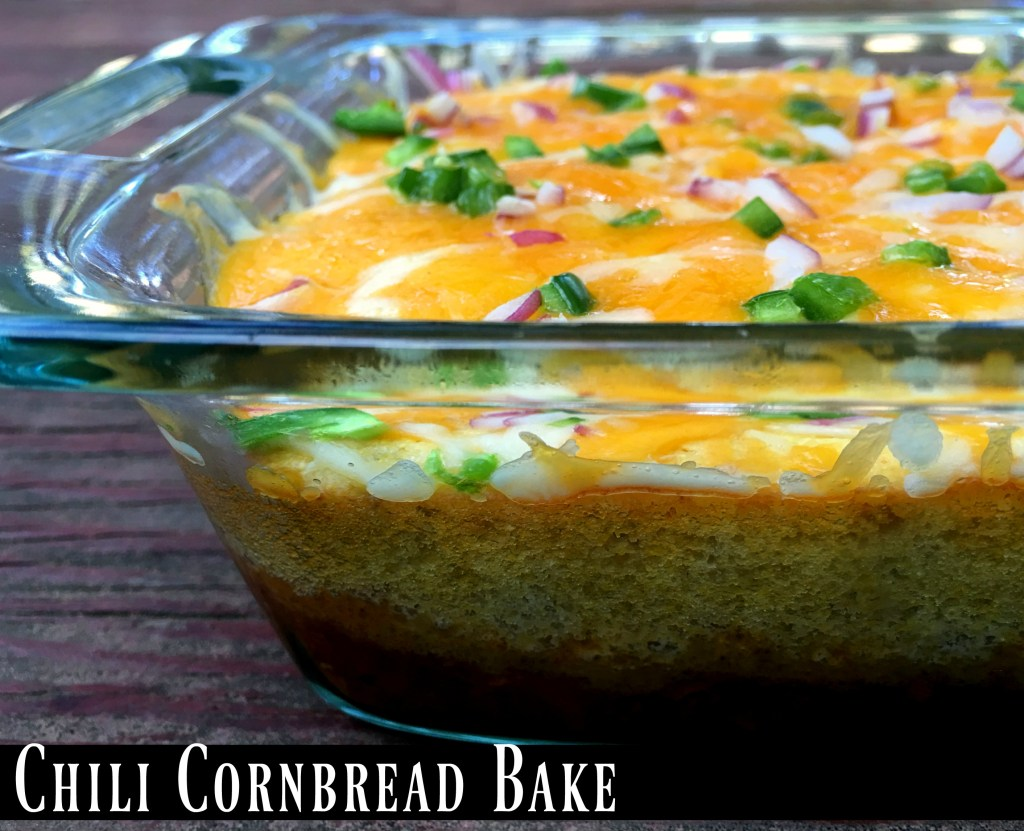 Chili Cornbread Bake | Aunt Bee's Recipes
