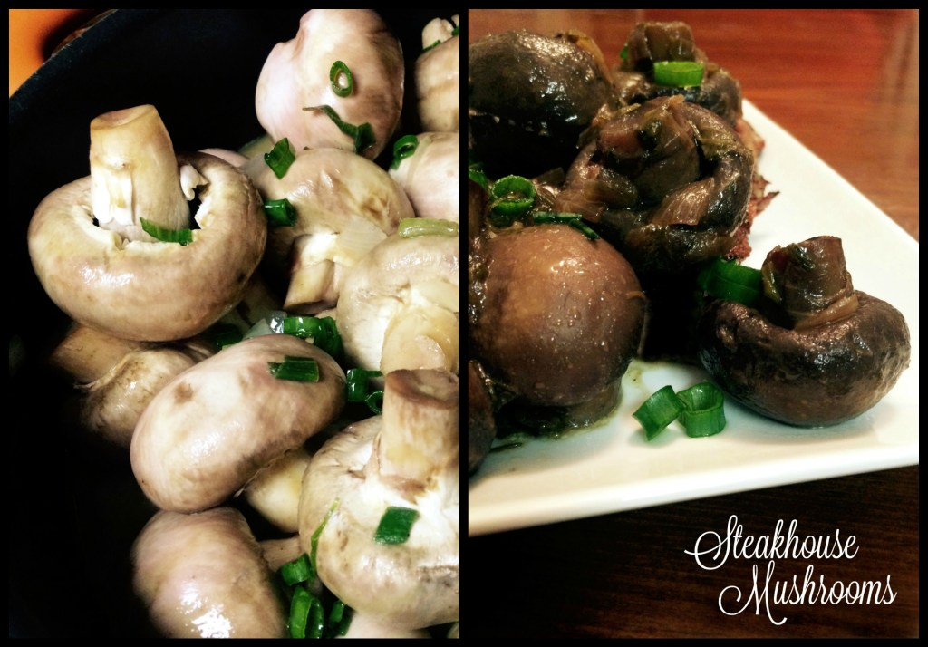 Steakhouse Mushrooms | Aunt Bee's Recipes