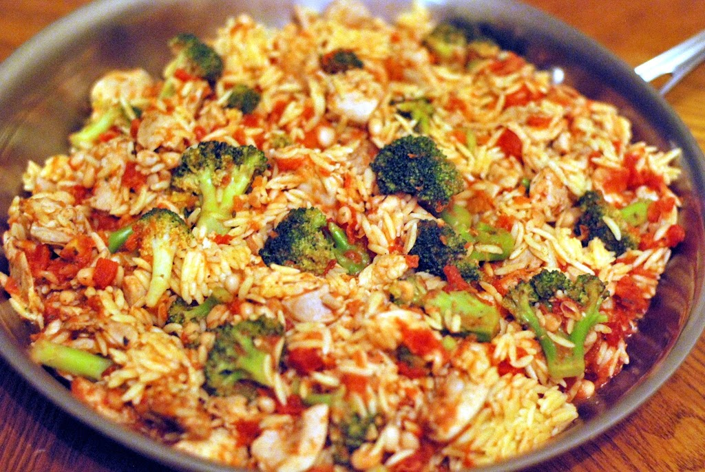 Chicken orzo skillet aunt bees recipes pdf forumfinder Image collections