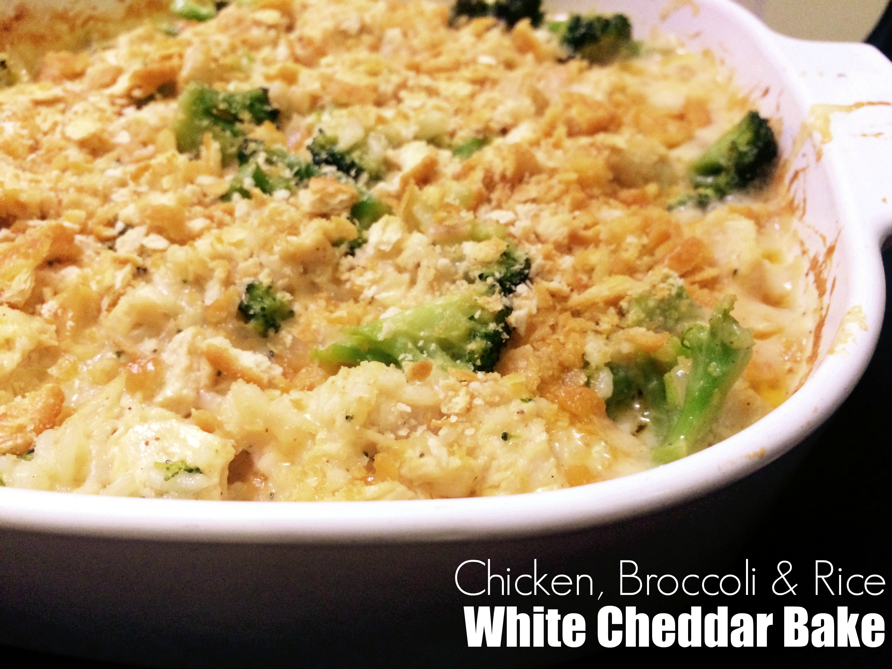 Cheddar chicken and rice recipe