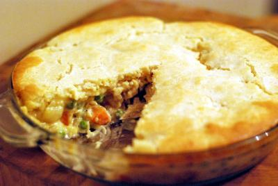 Easy Chicken Pot Pie | Aunt Bee's Recipes