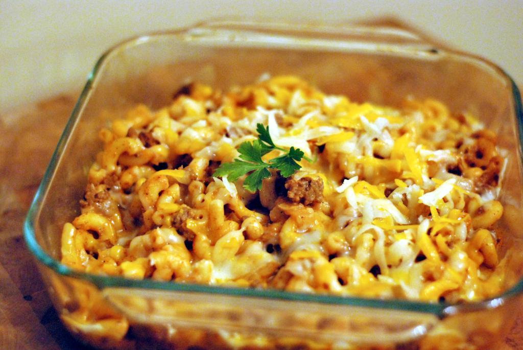 Preacher's Macaroni Casserole New