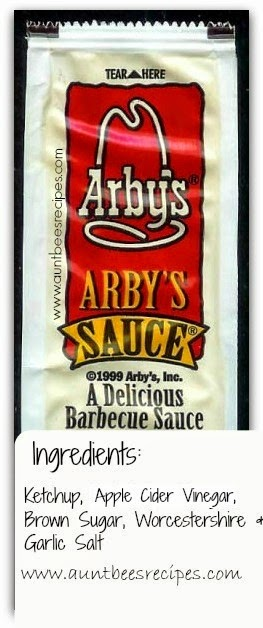 5 Ingredient Arby's Sauce COPYCAT