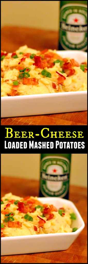 Beer-Cheese Loaded Mashed Potatoes | Aunt Bee's Recipes