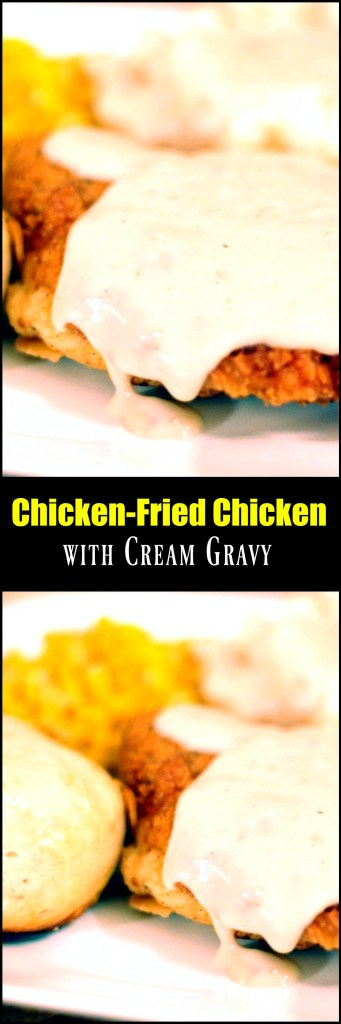 Chicken-Fried Chicken with Cream Gravy