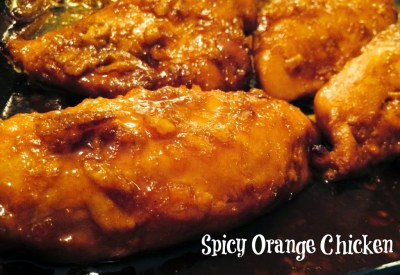 Spicy Orange Chicken | Aunt Bee's Recipes