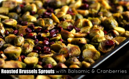 Brussels Sprouts with Balsamic & Cranberries – Brussels Sprouts ...