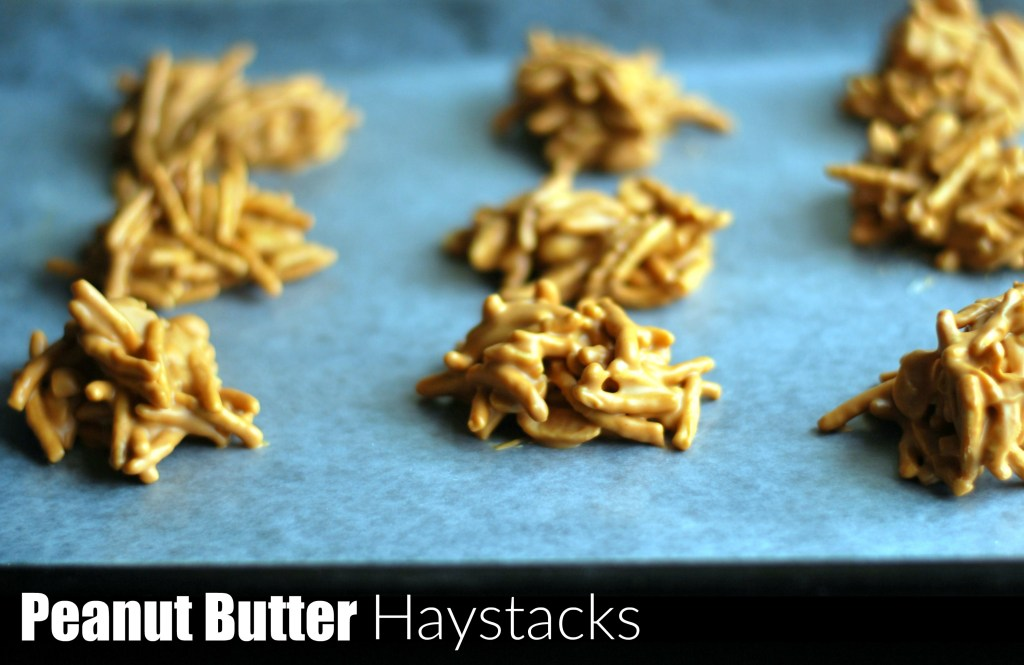 Peanut Butter Haystacks   Aunt Bee's Recipes